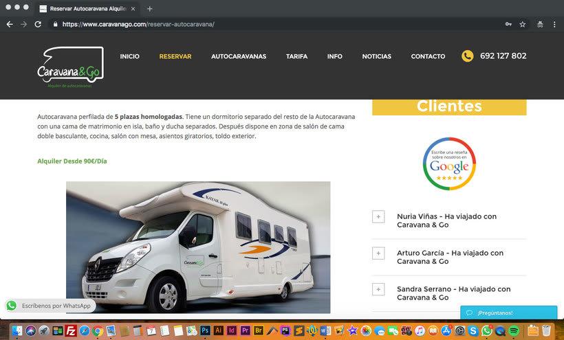 Diseño Web Wordpress - Alquiler Vehículos 1
