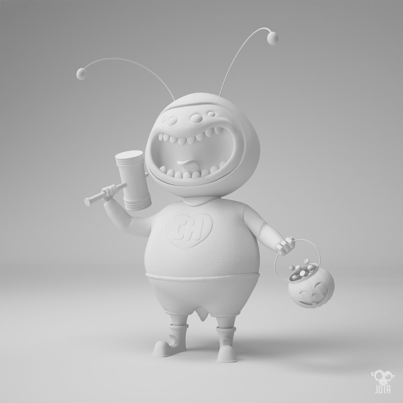 Mi Proyecto del curso: Creación de personajes con ZBrush y Cinema4D 11