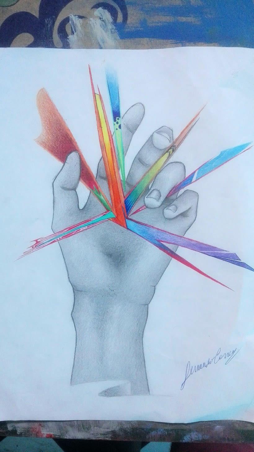 Nuestras manos son la mejor herramienta para mostrar lo que nuestros ojos ven  0