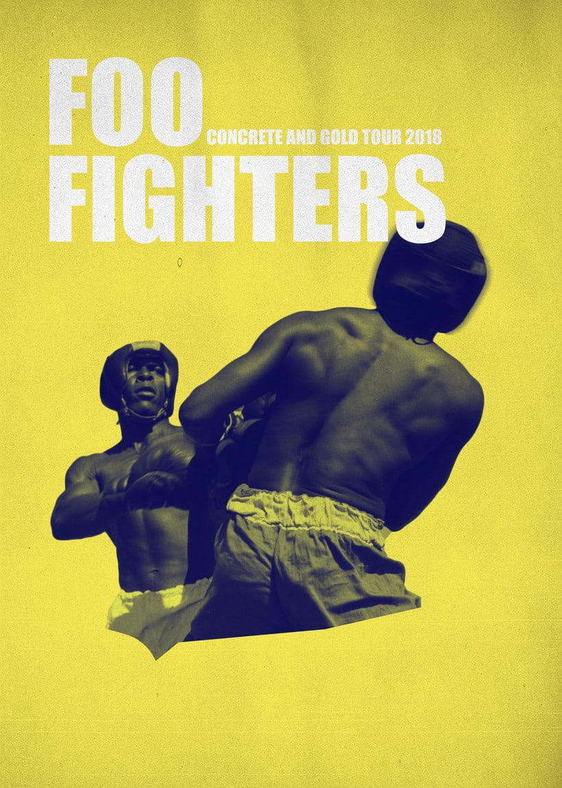Poster fan Foo Fighters -1