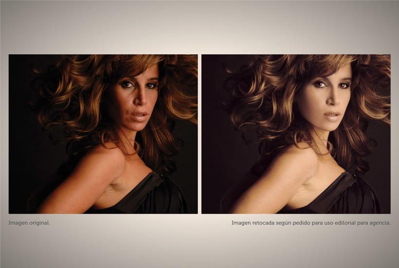Retoque fotográfico y coloración de imágenes. 0
