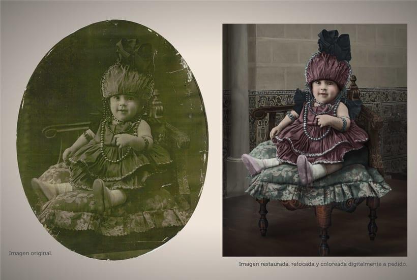 Retoque fotográfico y coloración de imágenes. 1