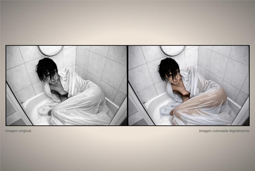 Retoque fotográfico y coloración de imágenes. 2