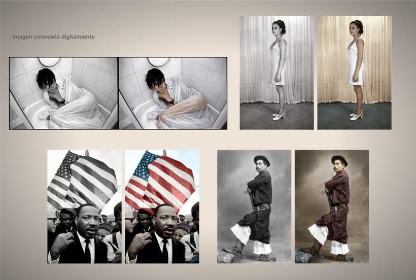 Retoque fotográfico y coloración de imágenes. 4
