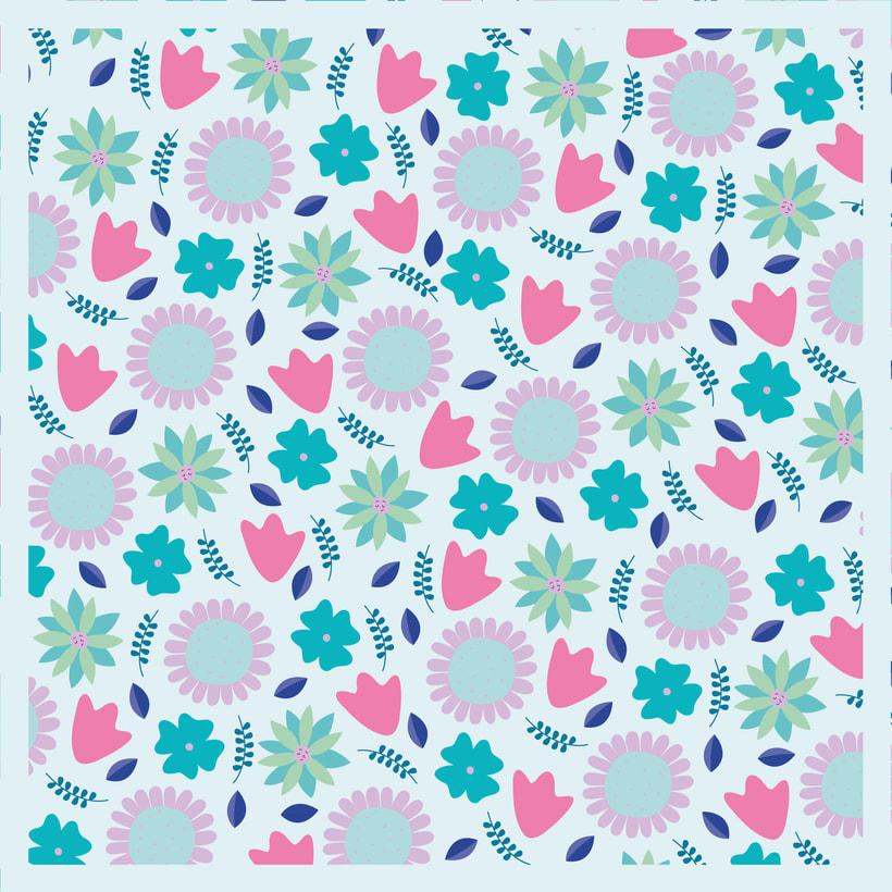 Patrón 2 - Floral - Primavera 0