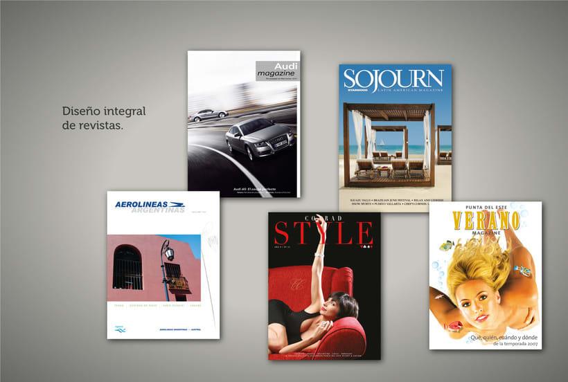 Diseño Editorial - libros y revistas 2