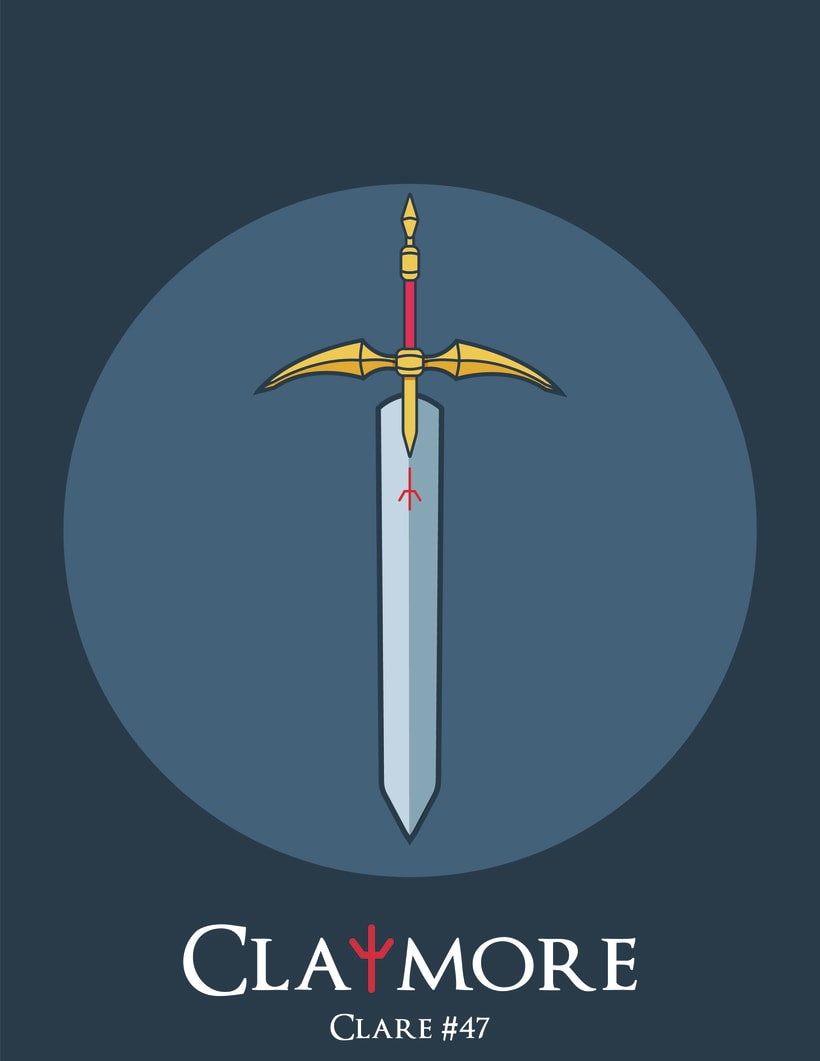 Claymore-proyecto personal 3