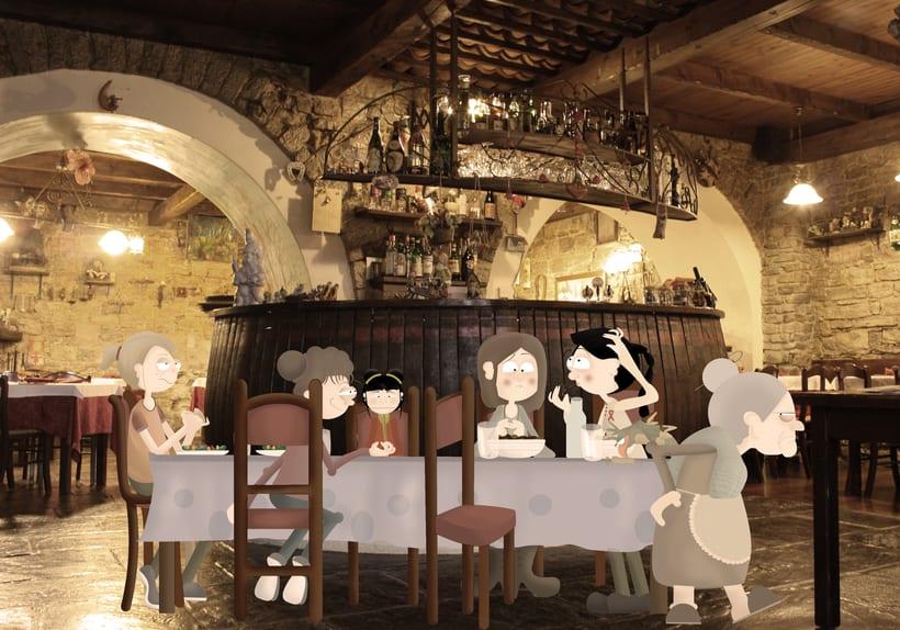Cena con la familia. A discutir.. 0