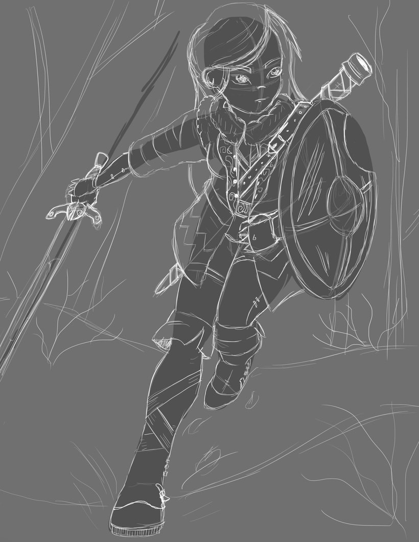 Aisha, The Hunter 5