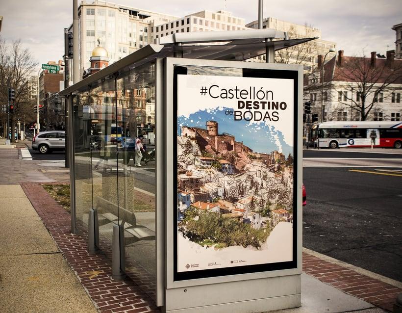 """""""Castellón destino de bodas"""" campaña publicitaria ficticia 0"""
