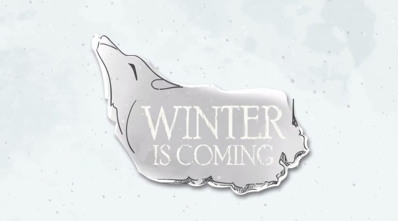"""Winter is coming"" maqueta videojuego interactivo 0"