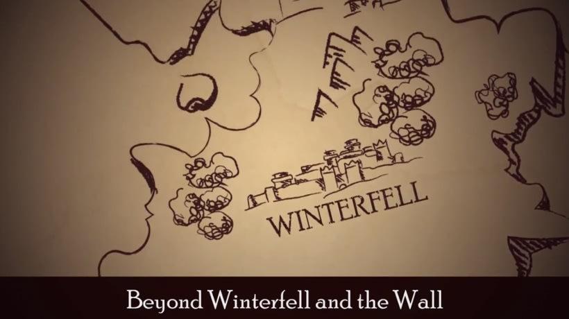 """Winter is coming"" maqueta videojuego interactivo 2"
