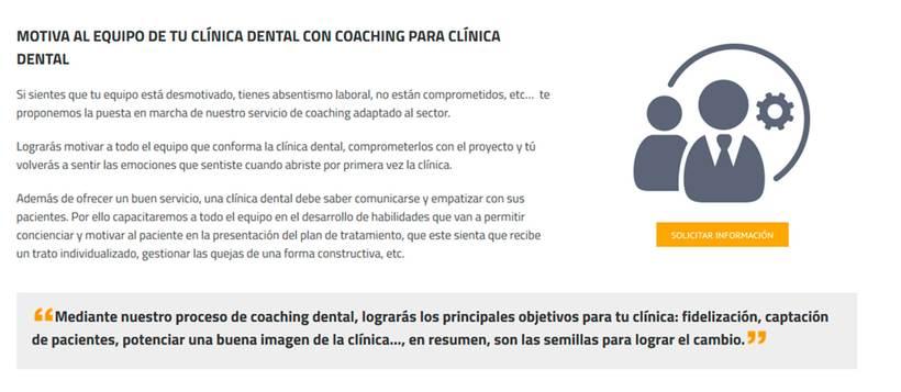 Coaching dental 0