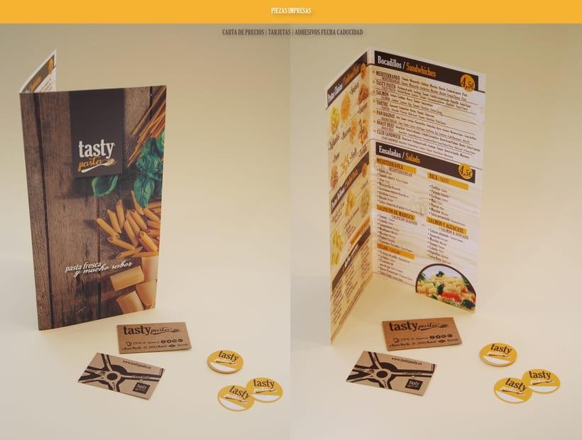Branding Tasty Pasta 5