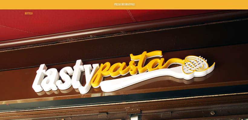 Branding Tasty Pasta 7