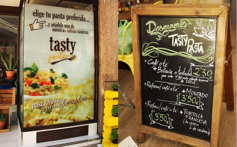 Branding Tasty Pasta 10