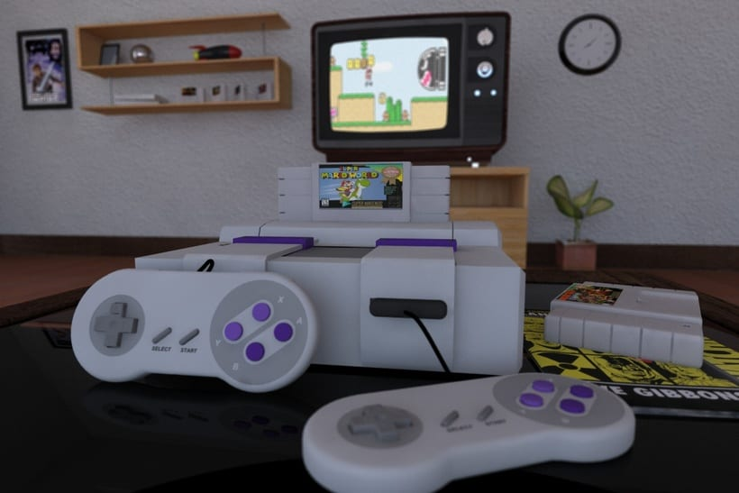 SNES Cinema 4D Vray Projects -1
