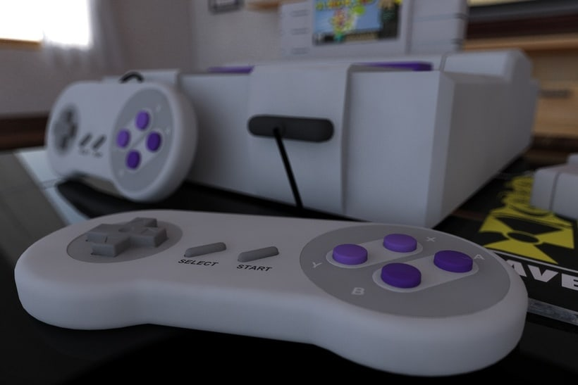 SNES Cinema 4D Vray Projects 0