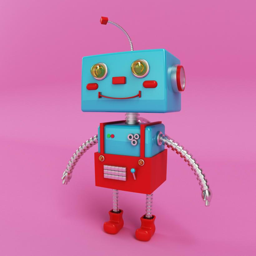 Robot 3D Model -1