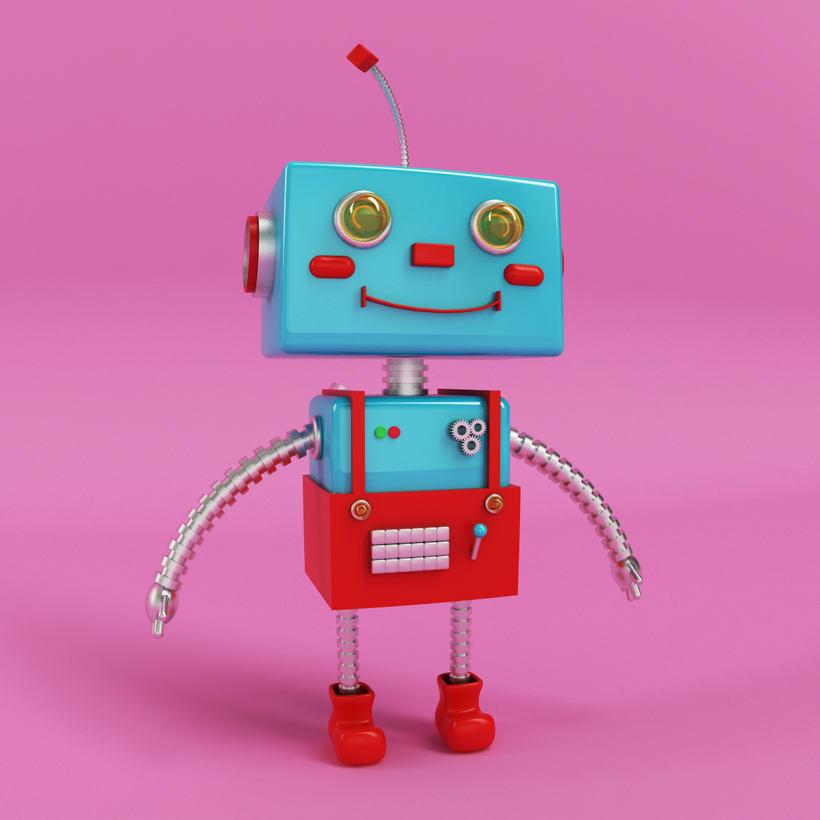 Robot 3D Model 1