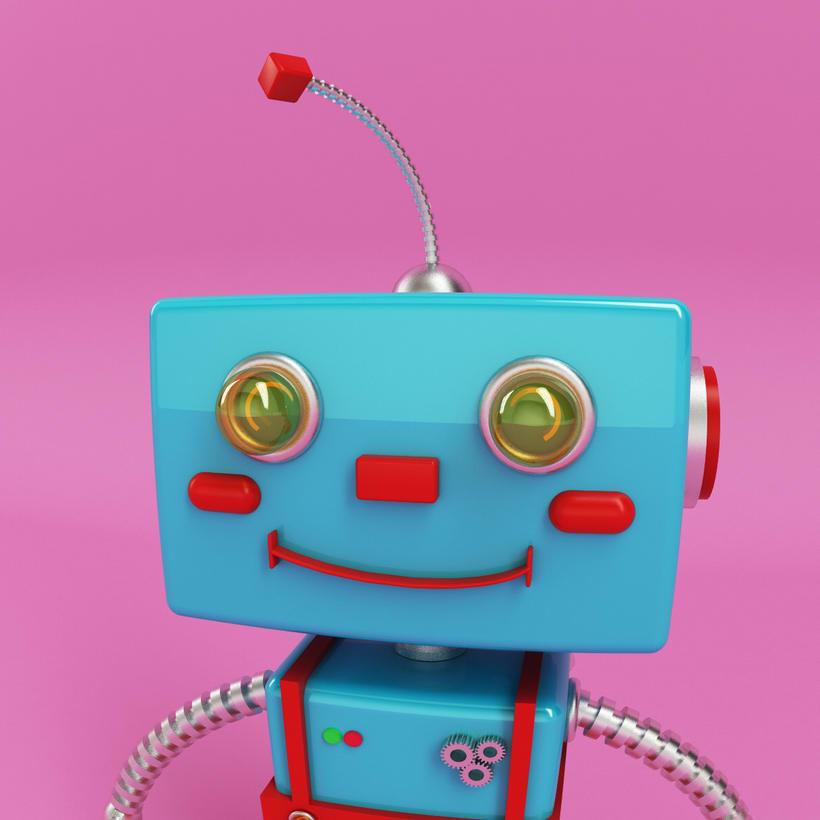 Robot 3D Model 2
