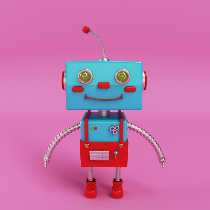 Robot 3D Model 3