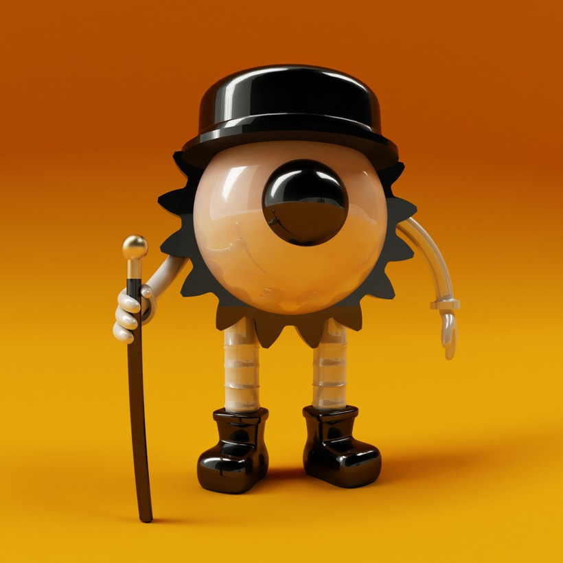 A clockwork Orange Eye 0