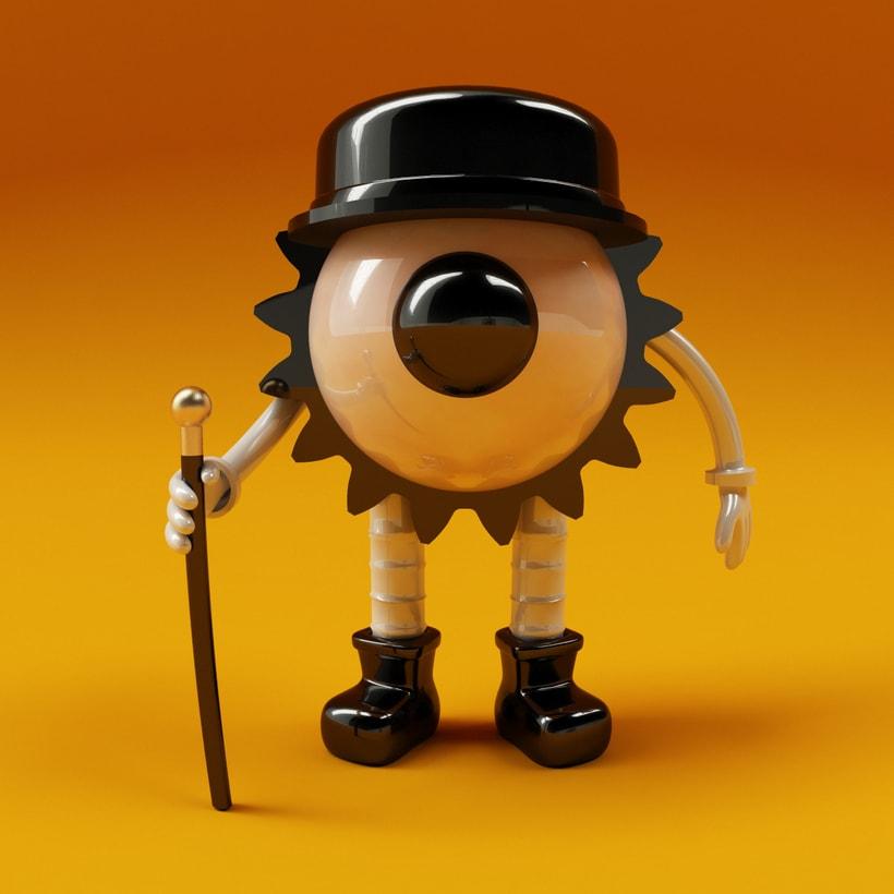 A clockwork Orange Eye 1