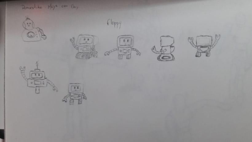 Flopp-Y | Mi Proyecto del curso: Introducción a la creación de personajes y modelado 3D con Maya 7