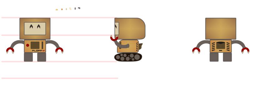 Flopp-Y | Mi Proyecto del curso: Introducción a la creación de personajes y modelado 3D con Maya 6