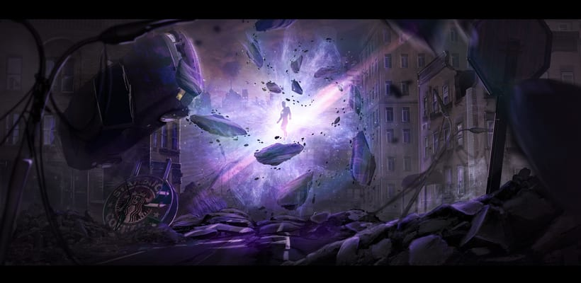 The arrival; concept art -1