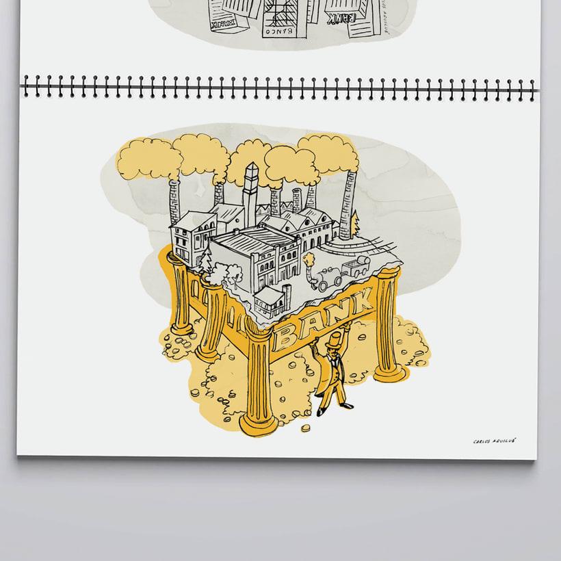 "Visual Storytelling ""Una historia de La Banca"" 1"