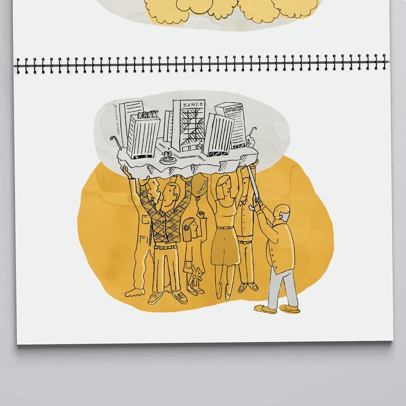 "Visual Storytelling ""Una historia de La Banca"" 2"