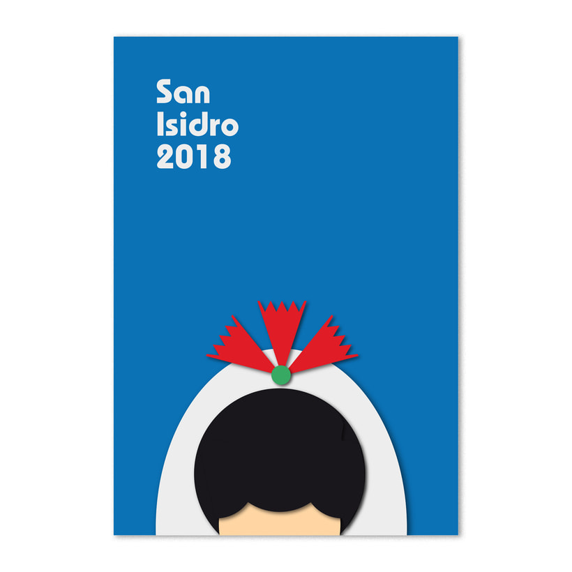 Carteles San Isidro 2018. Proyecto personal 0