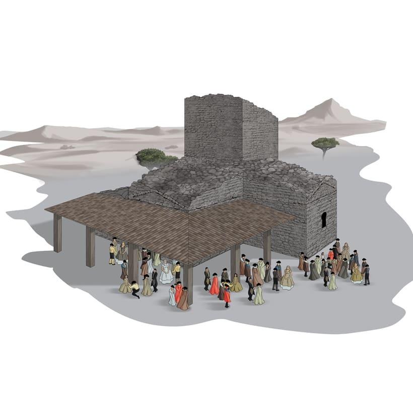 Santa María de Melque en el tiempo 4