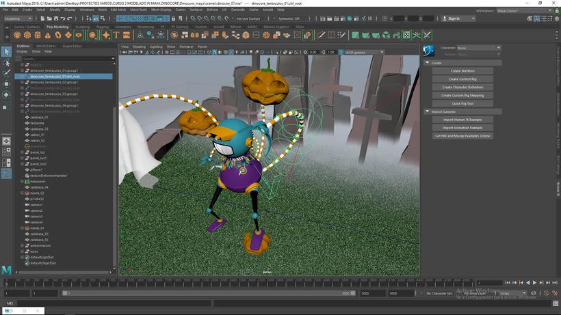 Mi Proyecto del curso: Modelado de personajes en Maya 3