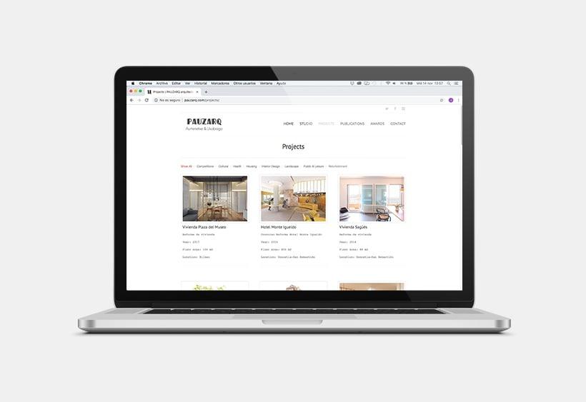 Web ↠ PAUZARQ  1