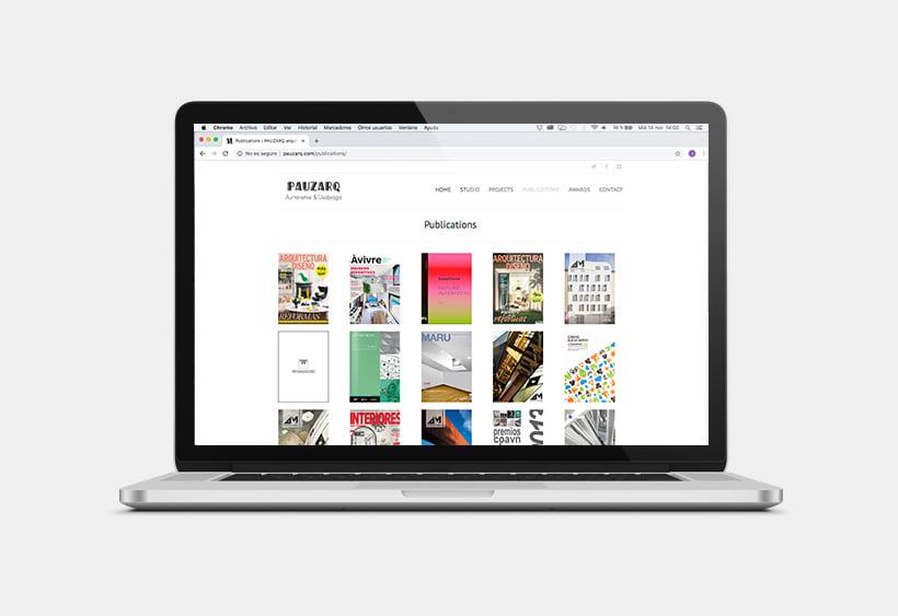 Web ↠ PAUZARQ  2
