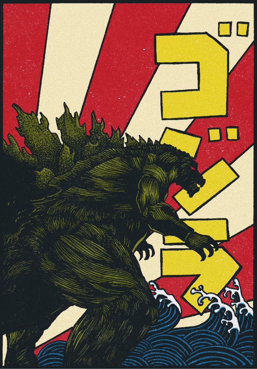 Godzilla -1