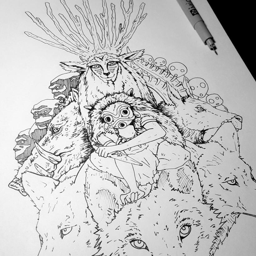 La princesa Mononoke // Princess Mononoke 3