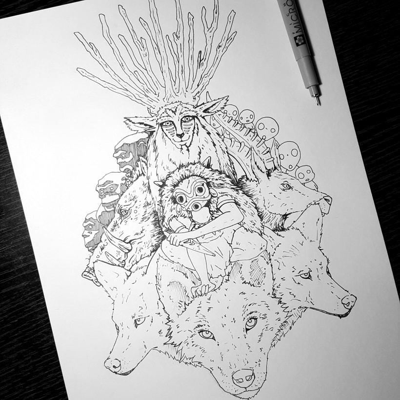 La princesa Mononoke // Princess Mononoke 4
