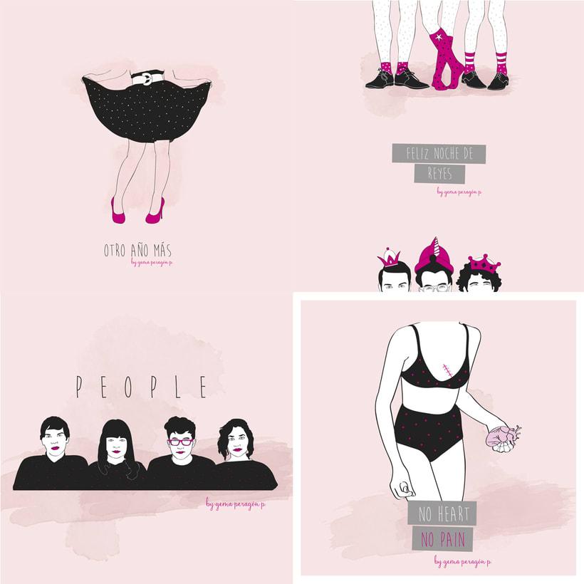 Pink & Black 1