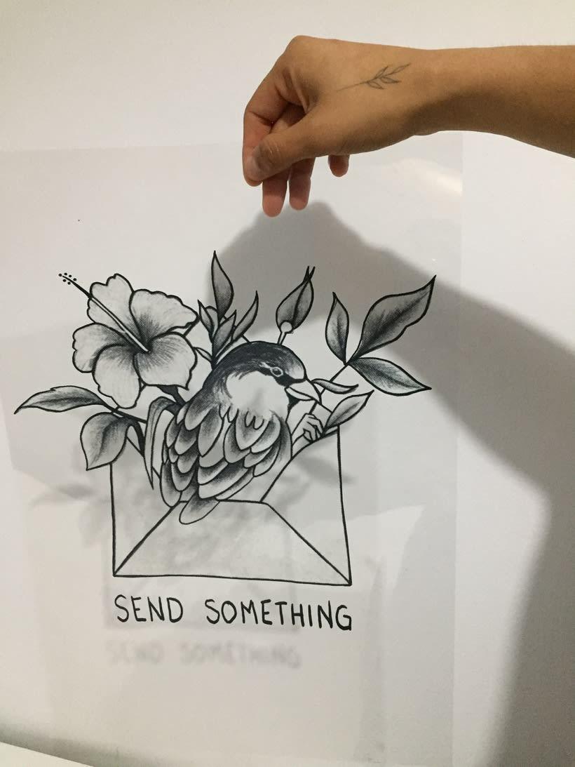 Send something cabrón (Serigrafía) 0