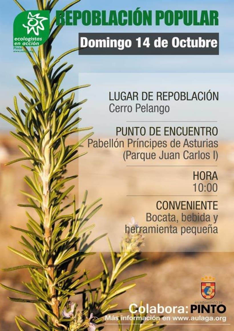 Diseño de Cartelería y Fotografía para Ecologistas en Acción 7