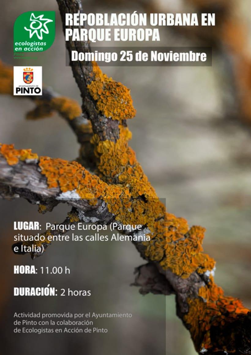 Diseño de Cartelería y Fotografía para Ecologistas en Acción 8