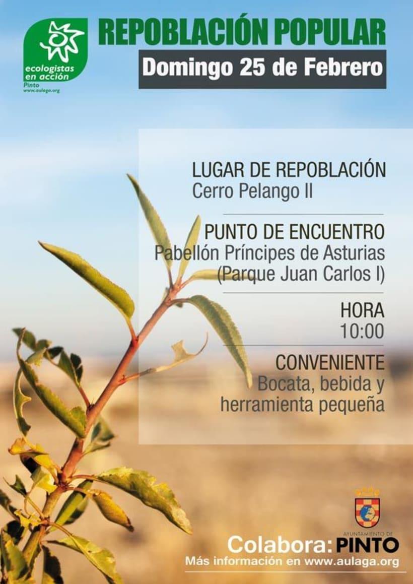 Diseño de Cartelería y Fotografía para Ecologistas en Acción 9