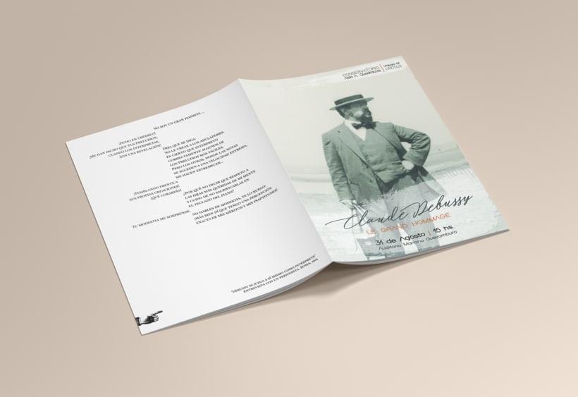 CLAUDE DEBUSSY ~ Le Grand Hommage / Diseño 2