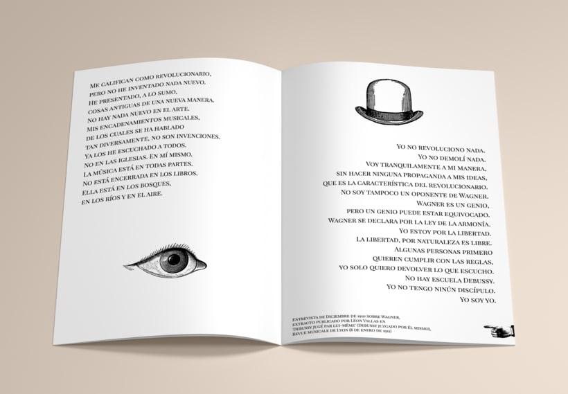 CLAUDE DEBUSSY ~ Le Grand Hommage / Diseño 3