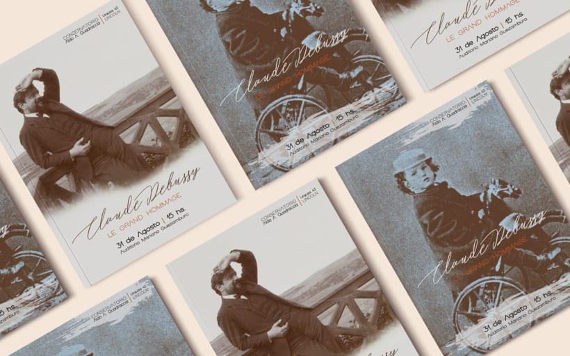 CLAUDE DEBUSSY ~ Le Grand Hommage / Diseño 5