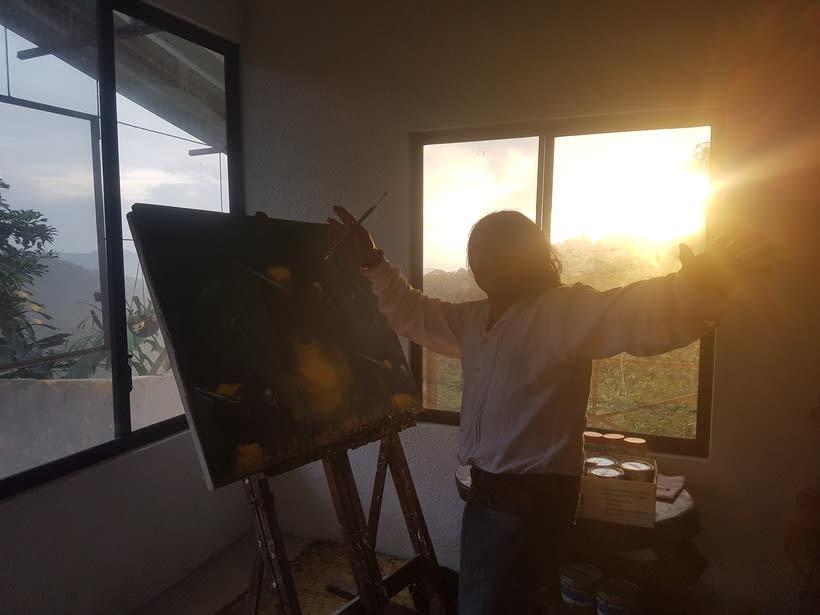 Pintor Ortega Maila-Taller Mashpi 24